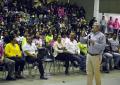 Conferencia Magistral de Macario Schettino ante más de mil estudiantes en Gpe y Calvo