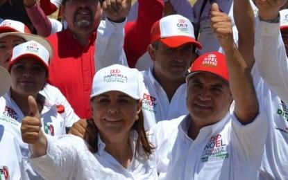 Graciela Ortiz en pláticas con la SCT para mejorar la carretera a Guadalupe y calvo y la corta a Chihuahua