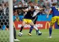 Alemania ganó 2-1 a Suecia con golazo de último minuto de Toni Kroos en el Mundial Rusia 2018
