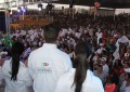 Asegura José Luis Martínez ganar; multitudinario cierre de campaña