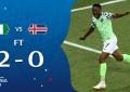 """Musa de esperanza"" para Argentina: Nigeria vence 2-0 a Islandia"