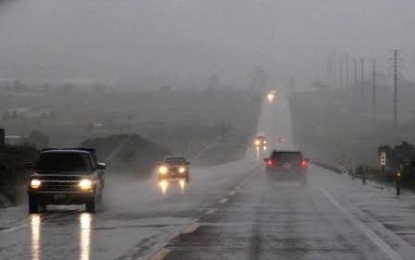 Onda tropical número 15 traerá lluvias fuerte para el estado