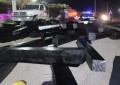 VÍDEO: Camión esparce polines en el peri sur; acceso a fraccionamiento Oleyda