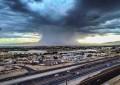 Deja tromba decenas de colonias afectadas en Juárez