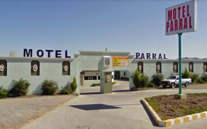 Fallece pareja en el motel Parral; encuentran camioneta de gobierno