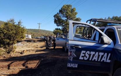 Acribillan hombres armados a dos en límites de Chihuahua y Sonora
