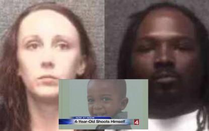 Niño de 4 años se dispara con pistola de su madre; arrestan a padres
