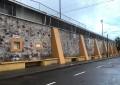 Rehabilita Obras Públicas fachada de estadio Valente Chacón Baca
