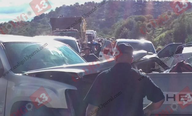 Más de 200 automovilistas varados tras accidente cerca de Casita
