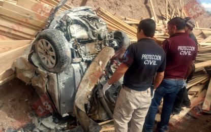 Encontronazo cerca de Chihuahua; PC de Allende, primeros respondientes