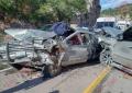 Identifican a tripulantes en encontronazo cerca de Casita; 9 heridos