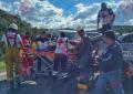VÍDEO: Choque frontal cerca de Casita; por lo menos 6 lesionados