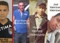 Circulan imágenes de presuntos homicidas y secuestradores del joven Rubén Alejandro Fernández