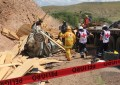 Terrible choque de camión en carretera Chihuahua-Cuauhtémoc; 2 muertos