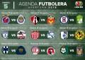 Fechas, horarios y dónde ver la jornada 5 de la Liga MX
