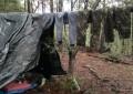 Destruye AEI campamento y aseguran 153 kilos de marihuana