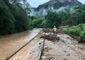 Fotos: Suspenden corridas del Chepe; lluvias afectaron las vías