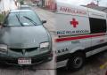 Choca ambulancia contra particular en las Quintas y Boulevard