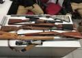 Asegura FGE Occidente armas y cartuchos en campo menonita