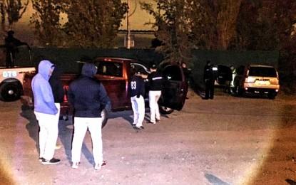 Les roban armas a ministeriales en la vialidad Sacramento