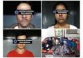 Policías Municipales capturan 3 personas robando del interior de casa habitación