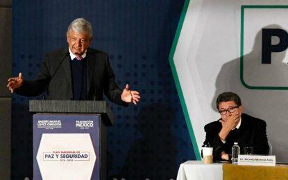 Sedena, pilar de la estrategia de seguridad de López Obrador
