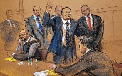 """Juez desestima declaraciones de abogado de """"El Chapo"""" contra presidentes"""