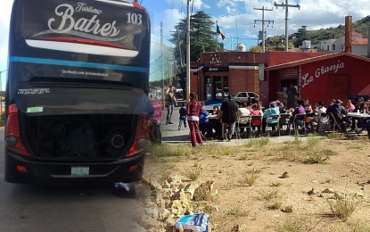 "VÍDEO: Empresa de camiones ""pirata"", dejó varados a pasajeros provenientes de Cd. Juárez"