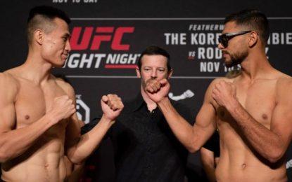 Enfrentará El Pantera a El Zombie Coreano hoy en UFC