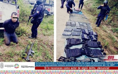 Detienen a chihuahuense tras emboscada a estatales en Petatlán