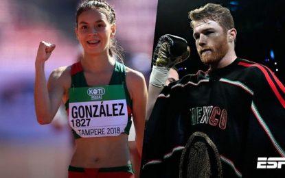 Ganan chihuahuense y el Canelo premio nacional de deportes
