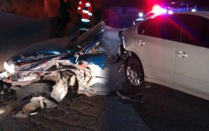 VÍDEO: Cuantioso accidente en el periférico sur, frente a la Valentín Gomez Farías