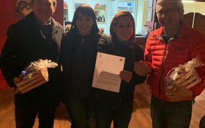 Valle de Allende firma hermandad con San Elizario, Texas; intercambio de culturas