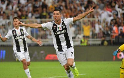 Con gol de Cristiano, Juventus se lleva la Supercopa de Italia ante el AC Milán