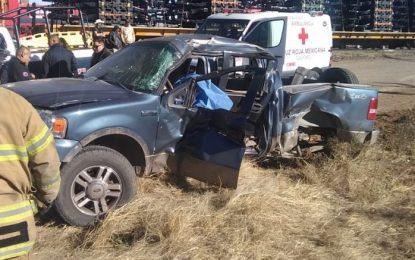 Identifican a fallecidos en accidente contra el tren