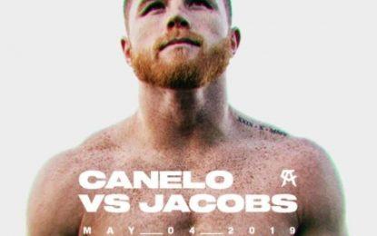 'Canelo' enfrentará a Daniel Jacobs en mayo