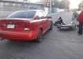Accidente en Palmilla deja un motociclista lesionado