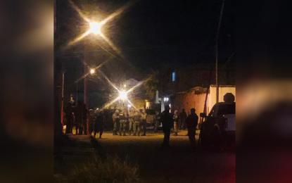 Intensa persecución y detención de sujetos armados en Jiménez