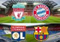 Aquí horario y canal de Lyon-Barça y Liverpool-Bayern
