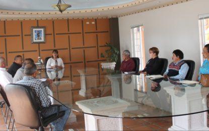 Desarrollan la primera sesión del consejo de seguridad pública en Allende