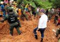 Deja 14 muertos deslave en Colombia