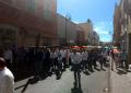 VIDEO: Decenas de feligreses participan en el Viacrucis 2019 de Parral