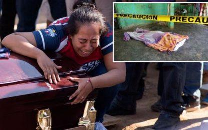 """Dieron """"tiro de gracia"""" a 7 en masacre de Minatitlán, incluso a bebé"""