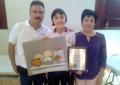 Alumna de la secundaria Valentín Gomez Farías gana concurso estatal de pintura