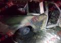 Se incendia camioneta en tramo de Granillo a Casita