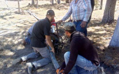 Amplían red hidráulica en la cabecera municipal de Guadalupe y Calvo