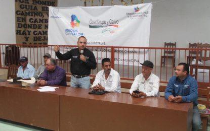 Anuncia Noel Chávez una clínica médica para Chinatu en Gpe y Calvo