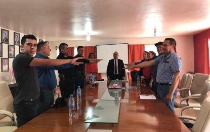 Conforman Consejo de Seguridad Publica en Guadalupe y Calvo.