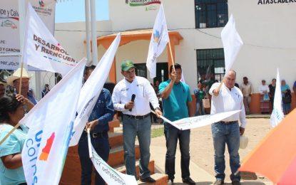 Gobierno del Estado y Municipio dan banderazo de al menos 10 obras en Barbechitos, Atascaderos y Mesa de San Rafael