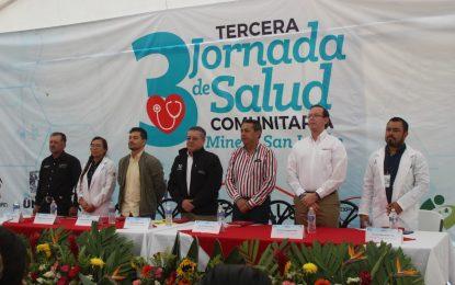 Minera San Julián realiza tercera jornada de salud en municipio de Guadalupe y Calvo